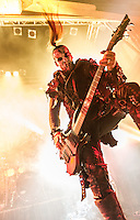 Behemoth at the House of Blues in New Orleans, LA.