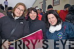 Dromid support at the Christmas Eve clash were the three sisters l-r; Helen, Annmarie & Debra O'Sullivan.