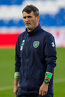 Team coach Roy Keane during Republic of Ireland training ahead of the World Cup Qualification match against Wales at Cardiff City Stadium, Cardiff, Wales on 8 October 2017. Photo by Mark  Hawkins.