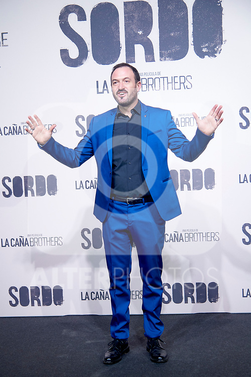 Álex O'Dogherty during Premiere Sordo at Capitol Cinema on September 11, 2019 in Madrid, Spain.<br />  (ALTERPHOTOS/Yurena Paniagua)
