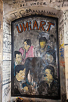 Europe/Allemagne/Bade-Würrtemberg/Heidelberg: Cachot des Etudiants - Studentenkazer - sur Augustinergasse peintures murales