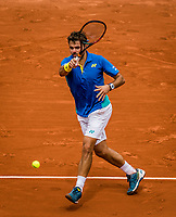 Paris, France, 30 May, 2017, Tennis, French Open, Roland Garros, Stan Wawrinka (SUI)<br /> Photo: Henk Koster/tennisimages.com