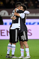 Federico Bernardeschi and Paulo Dybala of Juventus <br /> Torino 02/11/2019 Stadio Comunale <br /> Football Serie A 2019/2020 <br /> Torino FC - Juventus FC   <br /> Photo Federico Tardito / Insidefoto