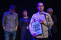 Edinburgh, UK. 08.08.2014.  The first batch of the Scotsman's Fringe First Awards are presented by Simon Callow in a ceremony at the Assembly Rooms. The award winners are: &quot;Cuckooed&quot; by Mark Thomas, produced by Lakin McCarthy in association with Traverse Theatre Company; &quot;Chef&quot; by Sabrina Mahfouz, starring Jade Anouka at Underbelly, Cowgate:<br /> &quot;The Collector&quot; by Henry Naylor at Gilded Balloon;<br /> &quot;Confirmation&quot; by Chris Thorpe and Rachel Chavkin - Northern Stage at King's Hall;<br /> &quot;Men in the Cities&quot; by Chris Goode and Company in association with Royal Court Theatre at the Traverse Theatre;<br /> &quot;Spoiling&quot; by John McCann, produced by Traverse Theatre Company at Traverse Theatre. Picture shows: Writer, John McCann. Photograph &copy; Jane Hobson.