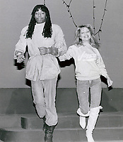 Rick James &amp; Pia Zadora 1986<br /> Photo By John Barrett-PHOTOlink.net / MediaPunch