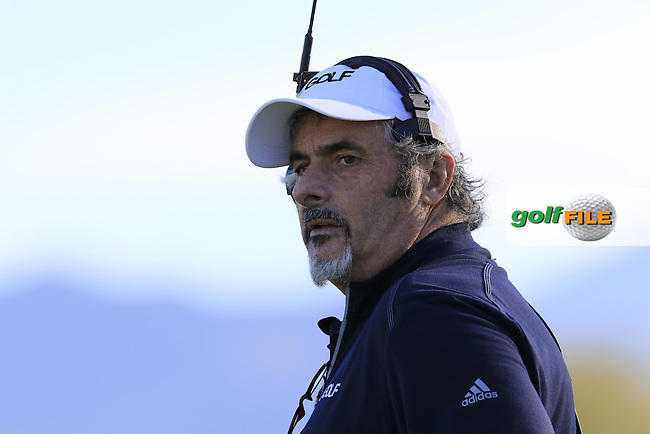 David Feherty at the 16th green during Saturday's Round 3 of the 2017 CareerBuilder Challenge held at PGA West, La Quinta, Palm Springs, California, USA.<br /> 21st January 2017.<br /> Picture: Eoin Clarke | Golffile<br /> <br /> <br /> All photos usage must carry mandatory copyright credit (&copy; Golffile | Eoin Clarke)