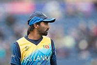 Nuwan Pradeep (Sri Lanka) during Afghanistan vs Sri Lanka, ICC World Cup Cricket at Sophia Gardens Cardiff on 4th June 2019