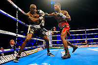 Darryl Williams defeats Jahmaine Smyle during a Boxing Show at the Copper Box Arena on 8th July 2017