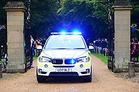 Picture by Simon Wilkinson/SWpix.com 05/09/2017 - Cycling OVO Energy Tour of Britain - Stage 3 Normanby Hall to Scunthorpe - the start at Normanby Hall, Lincolnshire<br />
