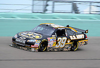 Nov. 20, 2009; Homestead, FL, USA; NASCAR Sprint Cup Series driver Ryan Newman during practice for the Ford 400 at Homestead Miami Speedway. Mandatory Credit: Mark J. Rebilas-