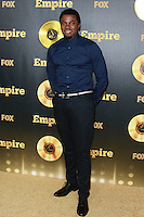 HOLLYWOOD, LOS ANGELES, CA, USA - JANUARY 06: Derek Luke at the Los Angeles Premiere Of FOX's 'Empire' held at ArcLight Cinemas Cinerama Dome on January 6, 2015 in Hollywood, Los Angeles, California, United States. (Photo by David Acosta/Celebrity Monitor)