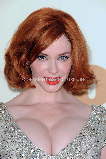 WWW.ACEPIXS.COM . . . . .  ....September 18 2011, LA....Actress Christina Hendricks arriving at the 63rd Annual Primetime Emmy Awards held at Nokia Theatre L.A. LIVE on September 18, 2011 in Los Angeles, California....Please byline: PETER WEST - ACE PICTURES.... *** ***..Ace Pictures, Inc:  ..Philip Vaughan (212) 243-8787 or (646) 679 0430..e-mail: info@acepixs.com..web: http://www.acepixs.com