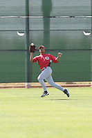 Juan Silva, Cincinnati Reds 2010 minor league spring training..Photo by:  Bill Mitchell/Four Seam Images.