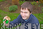 Darragh Rice, St. Brendans College, Killarney, who won a gold medal in the IREUSO physics exam in DCU on Saturday.