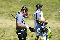 Phil Mickelson (USA) in action during the final round of the Northern Trust played at Liberty National Golf Club, Jersey City, USA. 11/08/2019<br /> Picture: Golffile | Michael Cohen<br /> <br /> All photo usage must carry mandatory copyright credit (© Golffile | Michael Cohen)