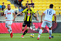 Matija Ljujic in action during the A-League football match between Wellington Phoenix and Adelaide United at Westpac Stadium in Wellington, New Zealand on Saturday, 27 January 2018. Photo: Dave Lintott / lintottphoto.co.nz