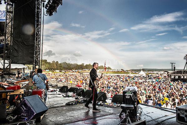 WIlco photographed at Lockn Music Festival in Arrington, VA September 7, 2014© Jay Blakesberg / MediaPunch