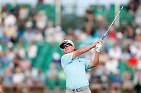 Charley Hoffman (USA) tees off on the 17th hole during the third round of the 118th U.S. Open Championship at Shinnecock Hills Golf Club in Southampton, NY, USA. 16th June 2018.<br /> Picture: Golffile | Brian Spurlock<br /> <br /> <br /> All photo usage must carry mandatory copyright credit (&copy; Golffile | Brian Spurlock)
