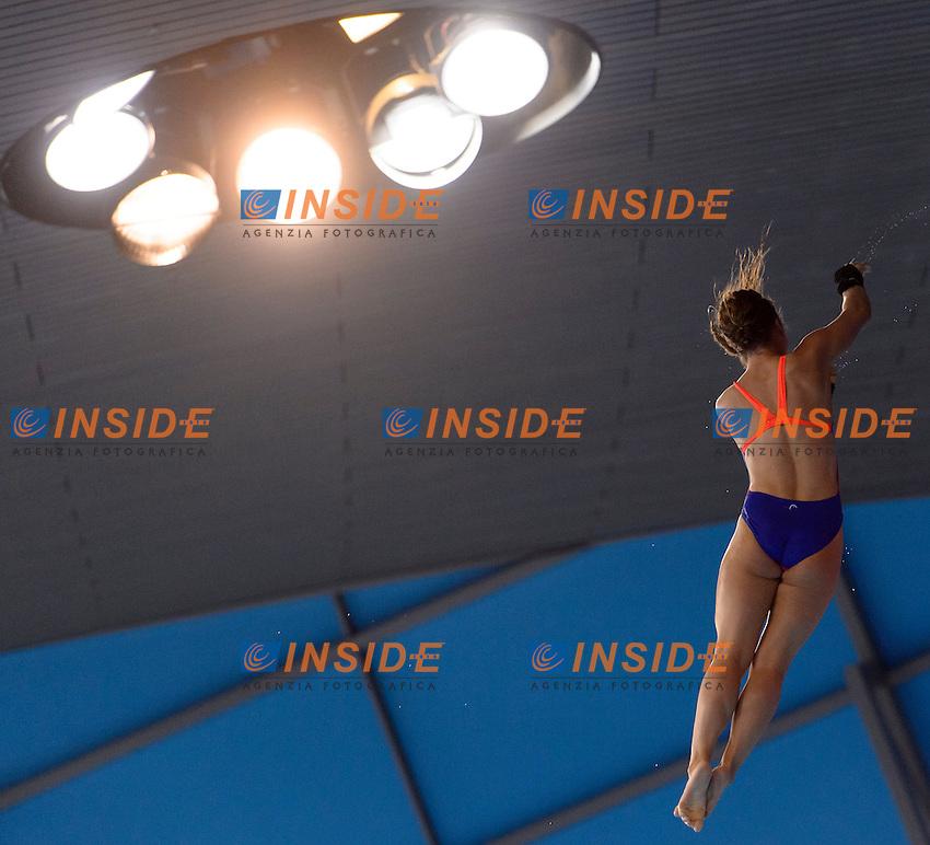 KURJO Maria GER Germany<br /> Women's 10m Platform Final <br /> London, Queen Elizabeth II Olympic Park Pool <br /> LEN 2016 European Aquatics Elite Championships <br /> Diving  <br /> Day 05 13-05-2016<br /> Photo Andrea Staccioli/Deepbluemedia/Insidefoto