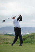 Noel Crawford (Mourne) during round 1 of The West of Ireland Amateur Open in Co. Sligo Golf Club on Friday 18th April 2014.<br /> Picture:  Thos Caffrey / www.golffile.ie