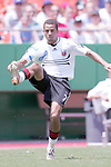 July 4 2007:  Fred Carreiro (7) of D.C. United.  The MLS Kansas City Wizards lost to the visiting D.C. United 0-1 at Arrowhead Stadium in Kansas City, Missouri, in a regular season league soccer match.