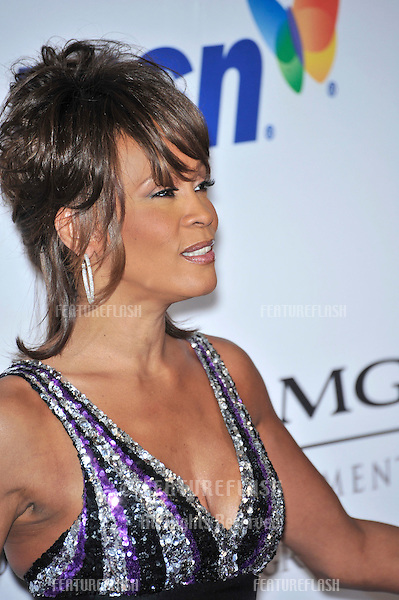 Whitney Houston at music mogul Clive Davis' annual pre-Grammy party at the Beverly Hilton Hotel..February 9, 2008  Los Angeles, CA.Picture: Paul Smith / Featureflash