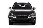 Car photography straight front view of a 2020 Subaru Crosstrek Premium 5 Door SUV Front View