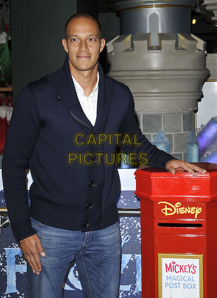 LONDON, ENGLAND - NOVEMBER 04: Bobby Zamora attends the Disney Store Christmas Party, The Disney Store, Oxford St., on Tuesday November 04, 2014 in London, England, UK. <br /> CAP/CAN<br /> &copy;Can Nguyen/Capital Pictures