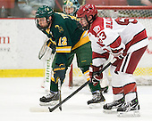 Nick Tremblay (Clarkson - 12), Colin Blackwell (Harvard - 63) - The Harvard University Crimson defeated the visiting Clarkson University Golden Knights 3-2 on Harvard's senior night on Saturday, February 25, 2012, at Bright Hockey Center in Cambridge, Massachusetts.