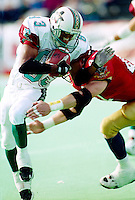 David Lucas San Antonio Texans 1995. Photo F. Scott Grant