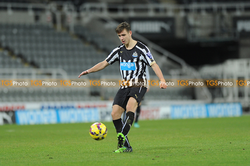 Alex Gilliead of Newcastle United - Newcastle United Under-21 vs Arsenal Under-21 - Barclays Under-21 Premier League Football at St James Park, Newcastle United FC - 09/02/15 - MANDATORY CREDIT: Steven White/TGSPHOTO - Self billing applies where appropriate - contact@tgsphoto.co.uk - NO UNPAID USE