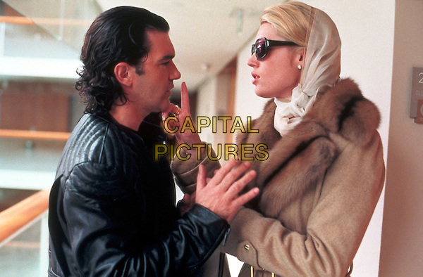 ANTONIO BANDERAS & REBECCA ROMIJN-STAMOS.in Femme Fatale.Filmstill - Editorial Use Only.Ref: FB.www.capitalpictures.com.sales@capitalpictures.com.Supplied By Capital Pictures.