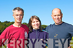 Dan O'Sullivan Iveragh, Anne Mangan Star of the Laune and Jack Griffin Iveragh at the County cross country championships in Killarney on Sunday   Copyright Kerry's Eye 2008