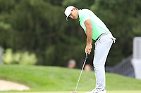 Brooks Koepka (USA) putts on the 16th green during Sunday's Final Round of the WGC Bridgestone Invitational 2017 held at Firestone Country Club, Akron, USA. 6th August 2017.<br /> Picture: Eoin Clarke | Golffile<br /> <br /> <br /> All photos usage must carry mandatory copyright credit (&copy; Golffile | Eoin Clarke)
