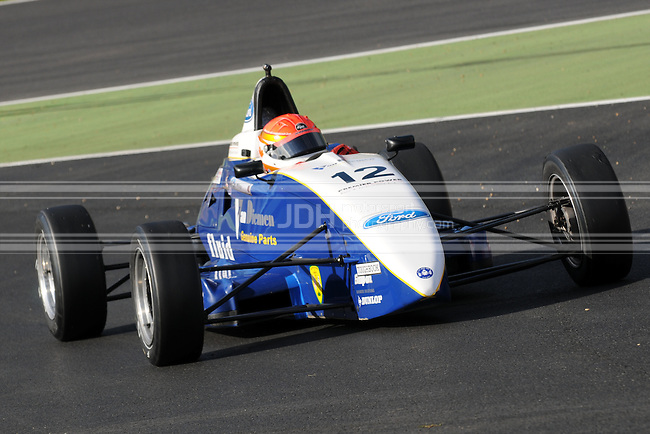 Thomas McGregor - Fluid Motorsport Van Diemen LA08