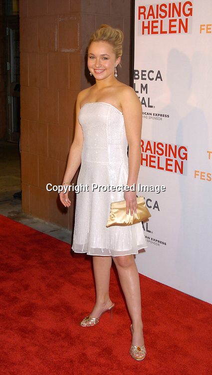 "Hayden Panettiere..at the Opening Night of The Tribeca Film Festival screening of ""Raising Helen"" on May 1, 2004 at the ..Tribeca Performing Arts Center. ..Photo By Robin Platzer, Twin Images.."