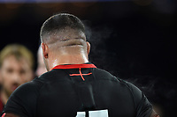 A general view of Ellis Genge after the match. Old Mutual Wealth Series International match between England and Argentina on November 11, 2017 at Twickenham Stadium in London, England. Photo by: Patrick Khachfe / Onside Images