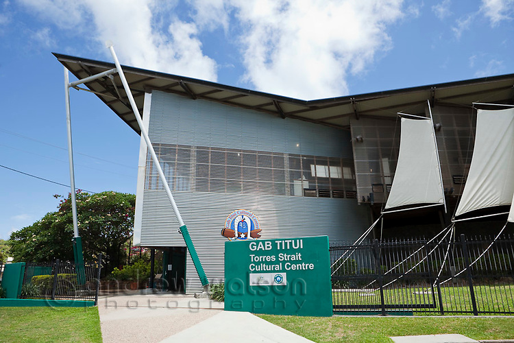 Gabi Titui Cultural Centre.  Thursday Island, Torres Strait Islands, Queensland, Australia