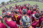 Orange, CA 05/17/14 - The Arizona State University team in preparation for their game against Colorado University for the MCLA Division I title.
