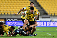 Hurricanes&rsquo; Alex Fidow in action during the Super Rugby - Hurricanes v Highlanders at Westpac Stadium, Wellington, New Zealand on Friday 8 March 2019. <br /> Photo by Masanori Udagawa. <br /> www.photowellington.photoshelter.com