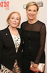 Holland Taylor and Cecile Richards attend a Special Broadway HD screening of Holland Taylor's 'Ann' at the the Elinor Bunin Munroe Film Center on June 14, 2018 in New York City.