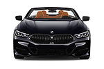 Car photography straight front view of a 2019 BMW 8-Series - 2 Door Convertible Front View