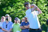 Justin Rose (GBR) watches his tee shot on 11 during round 2 of the Shell Houston Open, Golf Club of Houston, Houston, Texas, USA. 3/31/2017.<br /> Picture: Golffile | Ken Murray<br /> <br /> <br /> All photo usage must carry mandatory copyright credit (&copy; Golffile | Ken Murray)