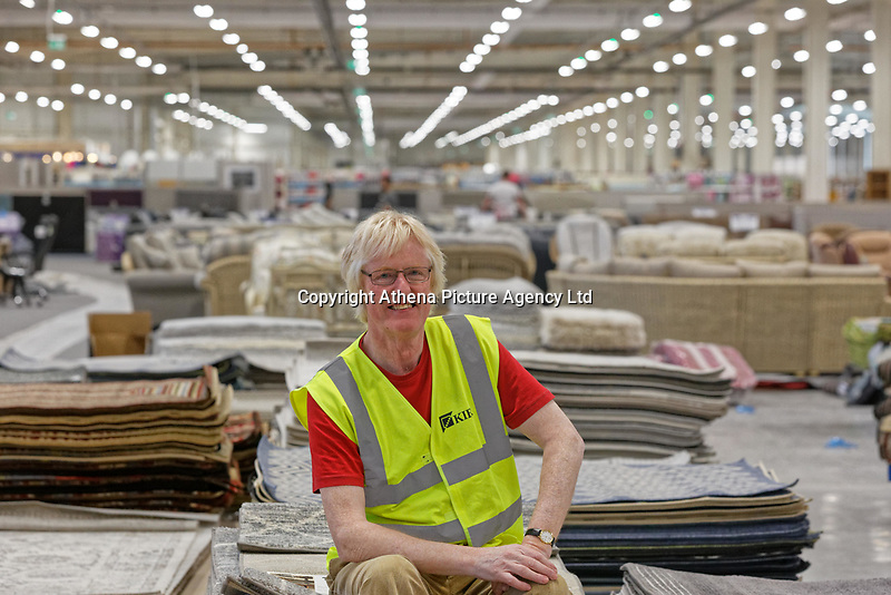 COPY BY TOM BEDFORD<br /> Pictured: Owner Bruce Robertson.<br /> Re: Trago Mills Mega Store, which opened its doors in Merthyr Tydfil, and is the largest store in Wales, UK. It is a £65m investment creating 350 jobs in one of Britain's biggest unemployment blackspots