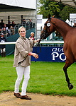 30th August 2017. Zara Tindall (GBR) riding High Kingdom during the First Horse Inspection of the 2017 Burghley Horse Trials, Stamford, United Kingdom. Jonathan Clarke/JPC Images