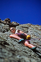 Rock Climber, Jackson Hole, Wyoming