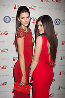 NEW YORK, NY - FEBRUARY 6: Kendall Jenner and Kylie Jenner  in Badgley Mischka attend The Heart Truth Red Dress Collection 2013 Fashion Show on February 6, 2013 in New York City. © Diego Corredor/MediaPunch Inc. ... /NortePhoto