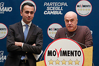 Andrea Cirulli<br /> <br /> Roma 29/01/2018. Presentazione dei candidati nelle liste uninominali del Movimento 5 Stelle.<br /> Rome January 29th 2018. Presentation of the candidates for Movement 5 Stars.<br /> Foto Samantha Zucchi Insidefoto
