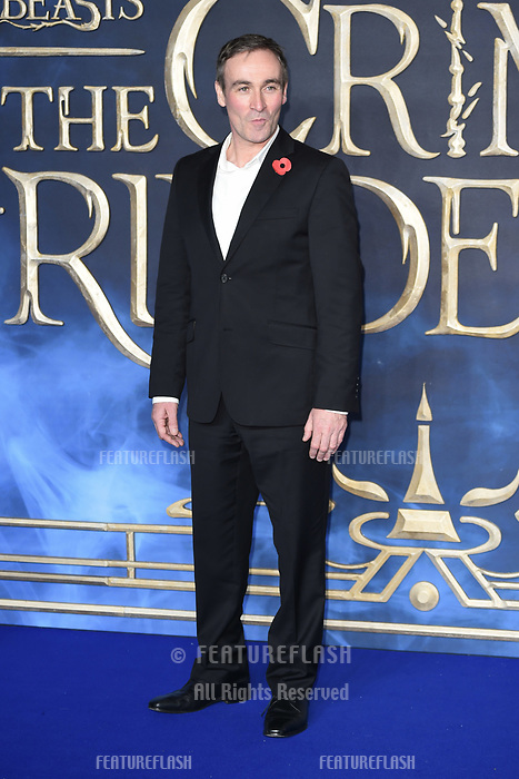 LONDON, UK. November 13, 2018: Derek Riddell at the &quot;Fantastic Beasts: The Crimes of Grindelwald&quot; premiere, Leicester Square, London.<br /> Picture: Steve Vas/Featureflash