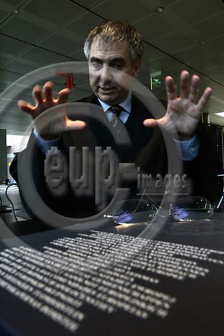 LUXEMBOURG - City - 27 APRIL 2006 --Court of Justice of the European Communities court case EU-Commission vs Microsoft. -- Thomas VINJE, lawyer representing  (IBM, Sun, etc.) the competitors of Microsoft. -- PHOTO: JUHA ROININEN / EUP-IMAGES
